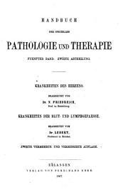 Handbuch der speciellen Pathologie und Therapie: Band 5,Teil 2