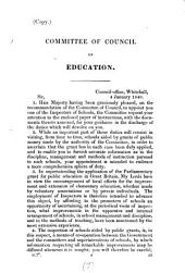 Letter to J. Allen and S. Tremenheere, school-inspectors. Followed by Instructions for the inspectors of schools. and Appendix: Volume 7