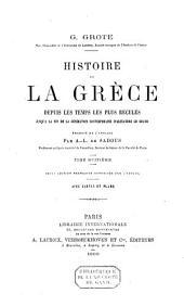 Histoire de la Grèce, depuis les temps les plus reculés: Volume8