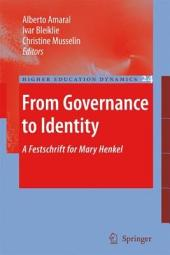 From Governance to Identity: A Festschrift for Mary Henkel