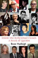 Inside the Hollywood Closet  A Book of Quotes PDF