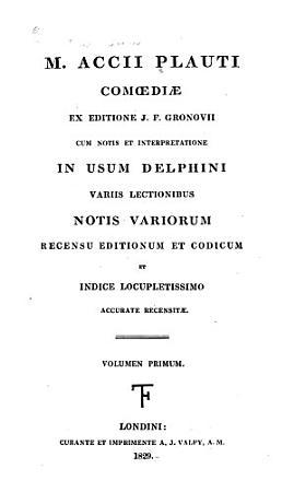 Comoediae PDF