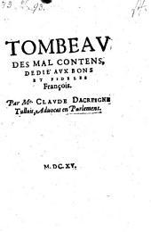 Tombeau Des Mal-Contens