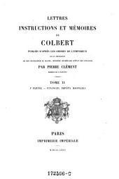 Finances, impôts, monnaies: Volumes 1-2