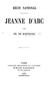 Récit national. Jeanne d'Arc