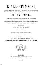 B. Alberti Magni Opera omnia: Volume 23