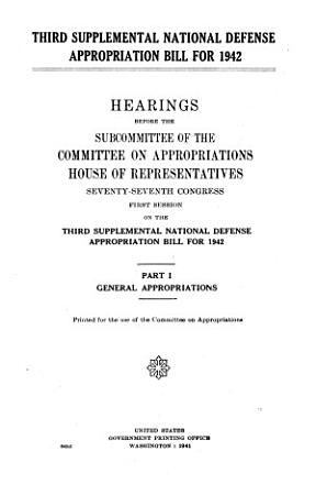 General appropriations PDF