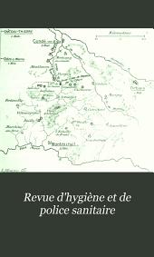 Revue d'hygiène et de police sanitaire: Volume24