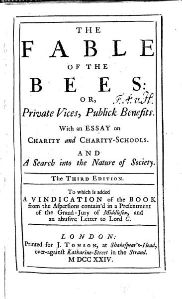 Download The fable of the Bees Book