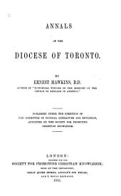 Annals of the Diocese of Toronto
