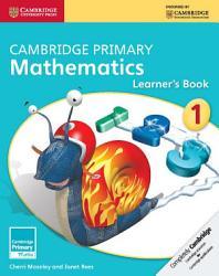 Cambridge Primary Mathematics Stage 1 Learner S Book Book PDF