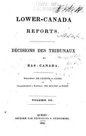 Lower Canada Reports: Seigniorial Questions