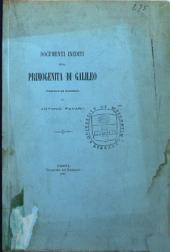 Documenti inediti sulla primogenita di Galileo