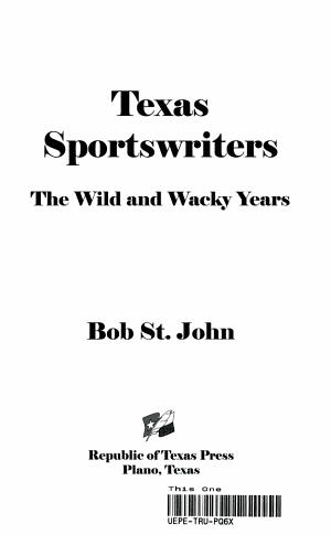 Texas Sports Writers