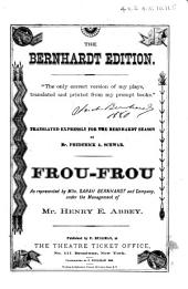 Frou-Frou: A Comedy in Five Acts