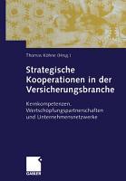 Strategische Kooperationen in der Versicherungsbranche PDF