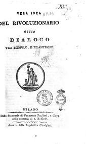 Vera idea del rivoluzionario, ossia Dialogo tra Egofilo e Filantropo