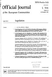 Official Journal of the European Communities PDF