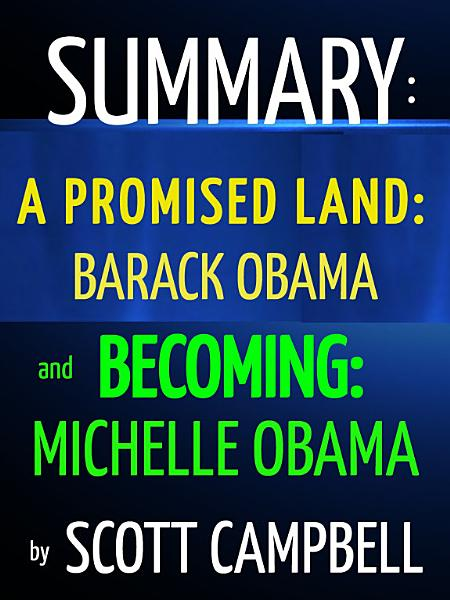 Download Summary  A Promised Land  Barack Obama and Becoming  Michelle Obama Book