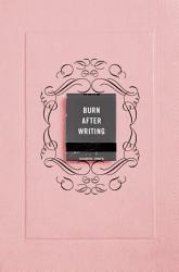 Burn After Writing Pink  Book PDF