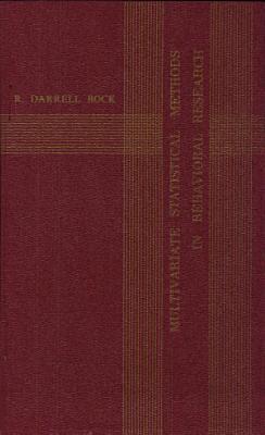 Multivariate Statistical Methods in Behavioral Research