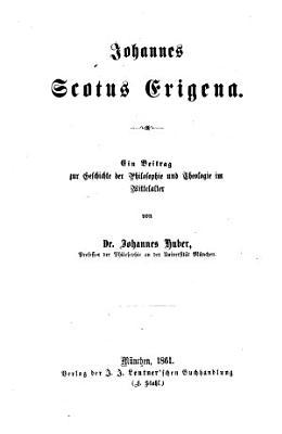 Johannes Scotus Erigena PDF