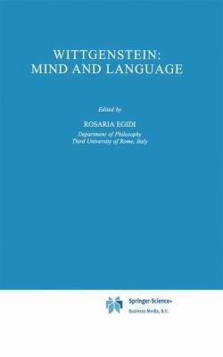 Wittgenstein  Mind and Language PDF