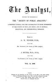 The Analyst: Volume 2