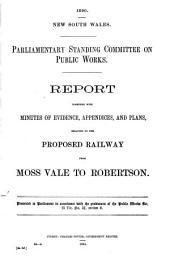 Report [on Railways]: 7 Vol, Volume 5