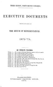 House Documents: Volume 7; Volume 267