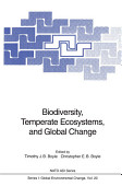Biodiversity Temperate Ecosystems And Global Change