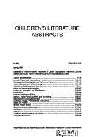 Children s Literature Abstracts PDF