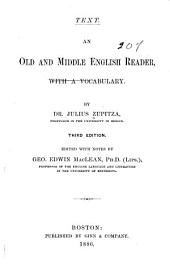 An Old and Middle English Reader