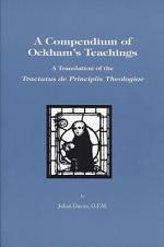 A Compendium of Ockham's Teaching
