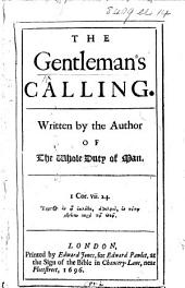 The Gentleman's Calling, etc