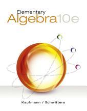 Elementary Algebra: Edition 10