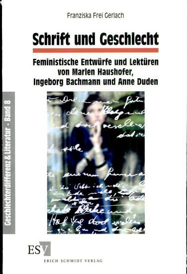 Schrift und Geschlecht PDF