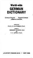 Worldwide German Dictionary PDF