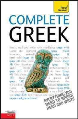 Complete Greek  A Teach Yourself Guide PDF