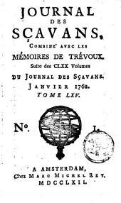 Le journal des sçavans, combiné avec les mémoires de Trévoux: Volume65