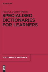 Specialised Dictionaries for Learners PDF