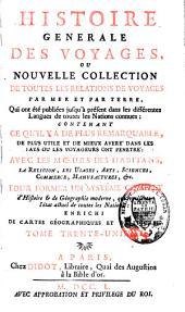 Histoire générale des voyages: Volume31