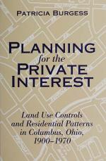 Planning for the Private Interest