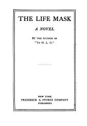 The Life Mask: A Novel