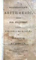 Elementary Arithmetic Designed for Beginners PDF