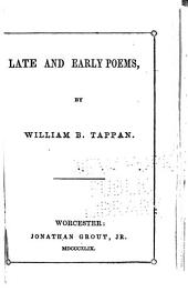 Late and Early Poems