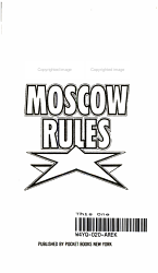 Moscow Rules Book PDF