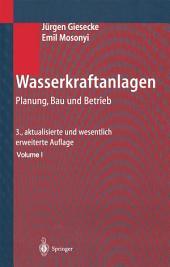 Wasserkraftanlagen: Planung, Bau und Betrieb, Ausgabe 3