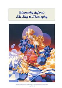 Blavatsky defends the Key to Theosophy PDF