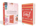 Niv  Girls  Ultimate Backpack Bible  Faithgirlz Edition  Compact  Flexcover  Coral  Red Letter Edition  Comfort Print PDF